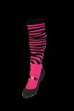 Funkousen Zebra roze zwart_
