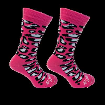 Held op Sokken Panter Roze