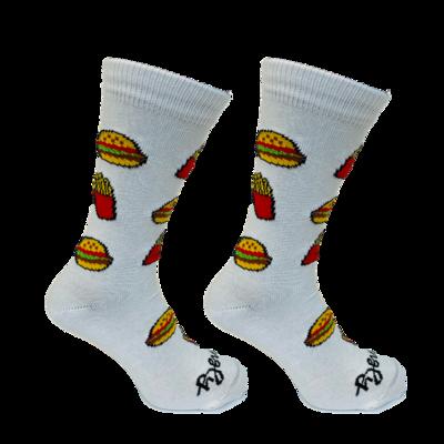 Held op Sokken Hamburger Wit