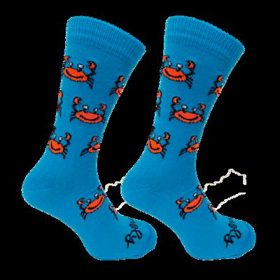 Held op Sokken Krab Blauw