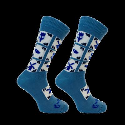 Held op Sokken Delfts Blauw