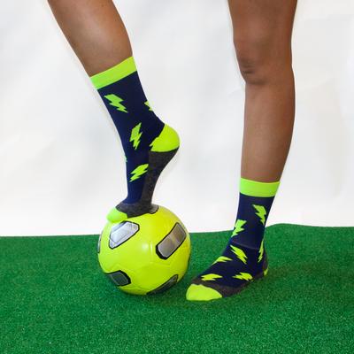 Lightning crew socks