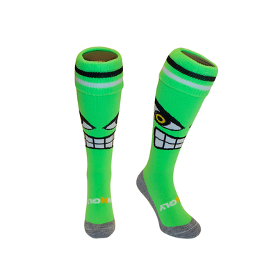Hockeysokken Hulk Groen