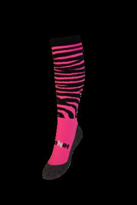 Funkousen Zebra roze zwart