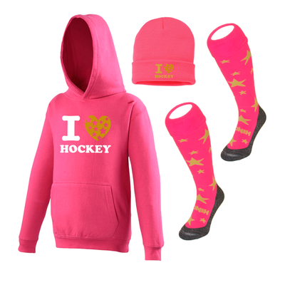 I LOVE HOCKEY PACK PINK
