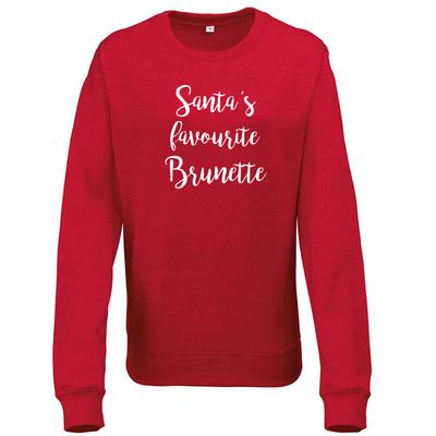 Santa's favorite Brunette