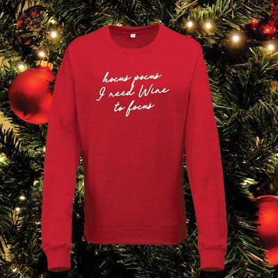 Hocus pocus Wine sweater