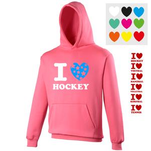 Trui I love *Sport* Roze