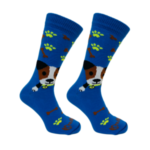 Held op Sokken Tommy Hond Blauw