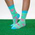 Flamingo crew socks_