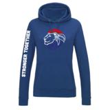 Hooded Sweater Kobalt Dames_