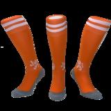 Hockeysokken Leeuw Oranje_