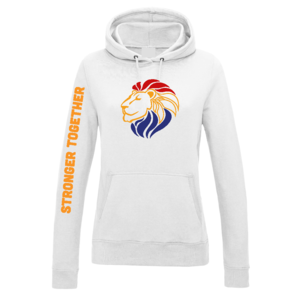 Hooded Sweater Wit Dames