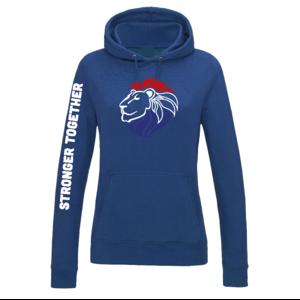 Hooded Sweater Kobalt Dames