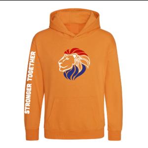 Hooded Sweater Oranje Unisex & Kids