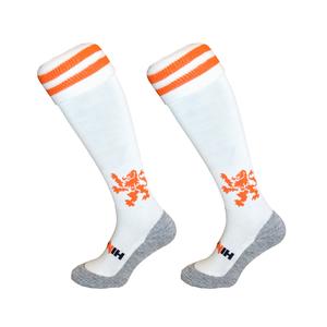 Hockeysokken Leeuw Wit/Oranje