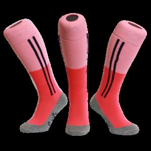 Hockeysokken 2 Stripe Roze/Roze