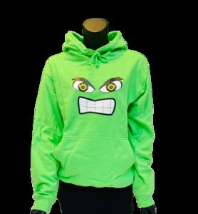 Hoodie Kids Groen Monster